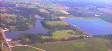 Overhead shot of Sky Reservoir